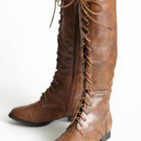 La Femme Lace Up Boots | Modern Vintage New Arrivals