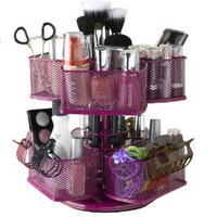 Amazon.com: Nifty Cosmetic Organizing Carousel, Rose: Beauty