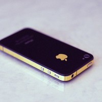 iPhone 4S Antenna Wrap Gold by kellokult on Etsy