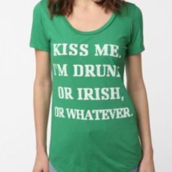 UrbanOutfitters.com > Truly Madly Deeply Kiss Me Tee