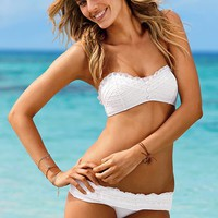 Eyelet Bandeau Top - Beach Sexy® - Victoria's Secret