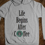 After Coffee Sweatshirt - Martin Twin Tees and Tanks