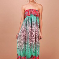 Sly Leopard Maxi Dress | Summer Dresses at Pink
