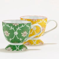 Lotus Blossom Mugs, Set of 2