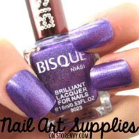 nailartsupplies | Metallic Purple - Vivid Purple Shimmery Nail Polish Lacquer 16ml | Online Store Powered by Storenvy
