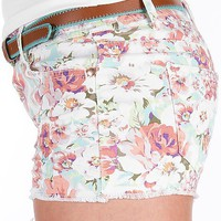 Tinseltown Floral Stretch Short