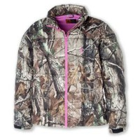 Browning Women's Realtree Camouflage Coat Pink Large
