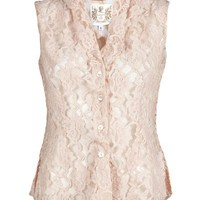 Nigel Preston Lace Blouse - Grethen House - farfetch.com