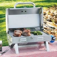 Cabela's: Cabela's Table Top Stainless Steel Grill