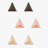Triangle Studs Set