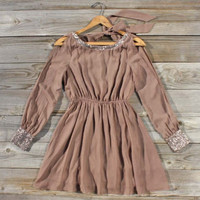Copper Starlight Dress, Sweet Women's Bohemian