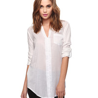 Split Neck Top | FOREVER21 - 2000033357