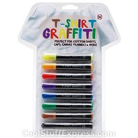 T-Shirt Graffiti Fabric Coloring Markers