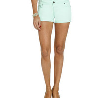 3 Button High Waist Short | Shop Bottoms at Wet Seal