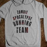 Zombie Apocalypse Running Team (Hoodie) - That Kills Me