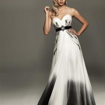 Floor Length Sweetheart 2012 Evening Dress (Aed0045) With Crystal