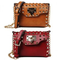 Punk Rivet Satchel from Hallomall