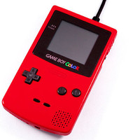1TB USB 3.0 Game Boy Color Hard Drive - Red