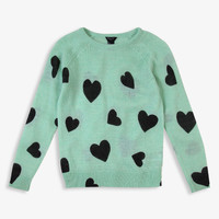 Heart Sweater | FOREVER21 girls - 2027704874