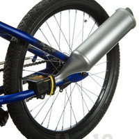 TurboSpoke: Makes your bike look and sound like a motorbike.