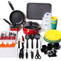 Amazon.com: Unica Household 67-Piece Kitchen Starter Set: Sports & Outdoors