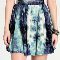 Dry Lightning Skater Skirt By Evil Twin - $68.00 : ThreadSence, Women's Indie & Bohemian Clothing, Dresses, & Accessories