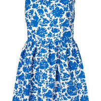 China Floral Lattice Sundress - Dresses - Clothing - Topshop