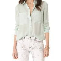Club Monaco Cambria Shirt | SHOPBOP
