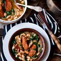 Flying Away to Mexico [Chorizo & White Bean Stew]