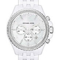 Michael Kors Crystal Topring Chronograph Watch | Nordstrom