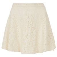 Petite Lace Skater Skirt - New In This Week - New In - Topshop USA