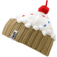 Neff Vanilla White Cupcake Beanie