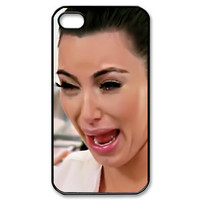 Cute Kim kardashian ugly crying face 01 iphone 5 case > ALWAYS READY STOCK