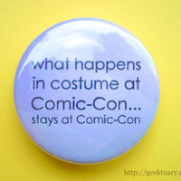 What happens in costume at Comic-Con...
