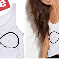 One Direction Infinite Directioner Cropped Tank Top (Preorder)