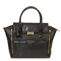Winged Pushlock Tote - Bags & Wallets - Bags & Accessories - Topshop USA