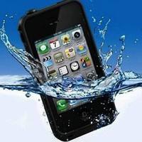 Waterproof Shockproof Lifeproof Dirt Proof Water Case Cover for Apple iPhone4 4S