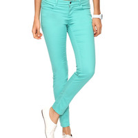 Twill Skinny Pants | FOREVER21 - 2011408256