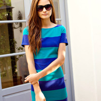 Striped Boat Neck Dress | FOREVER21 - 2011409489