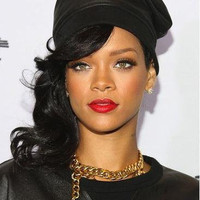 Rihanna, Rihanna Gun Necklace, Rihanna Necklace, Celebrity Inspired Jewelry, Chunky Link Necklace, Urban Necklace