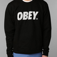 OBEY Font Crew Sweatshirt