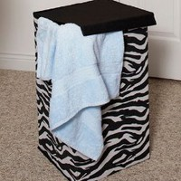 Amazon.com: Zebra Hamper: Home & Kitchen