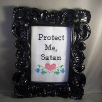 Do It Yourself Kit Protect Me Satan