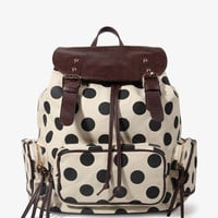 Polka Dot Backpack | FOREVER 21 - 1027705409