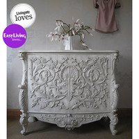 Baroque Carved Cabinet|Drawers  Cabinets|Storage|French Bedroom Company