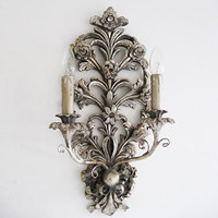 Ensconced Silver Wall Light|Wall Lights|Lighting|French Bedroom Company