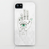 EYE SEE HAMSA iPhone Case | Print Shop