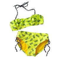 Hang Ten Pineapple 2-pc. Halter Bikini Swimsuit Set - Girls 7-16
