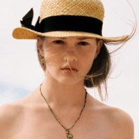 Pins and Needles Straw Boater Hat