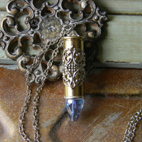 Bullet Necklace, Bullet Jewelry, Pendant Necklace, Outlaw Glam